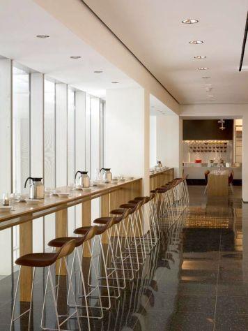Gubi barstools at MoMA