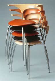 Zar chair, stacked