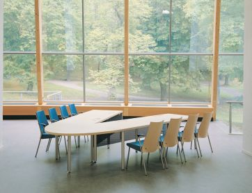 Convent video conference table