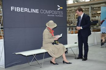 Big Bank donated to Queen Margrethe of Denmark
