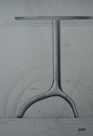 Orbit table drawing