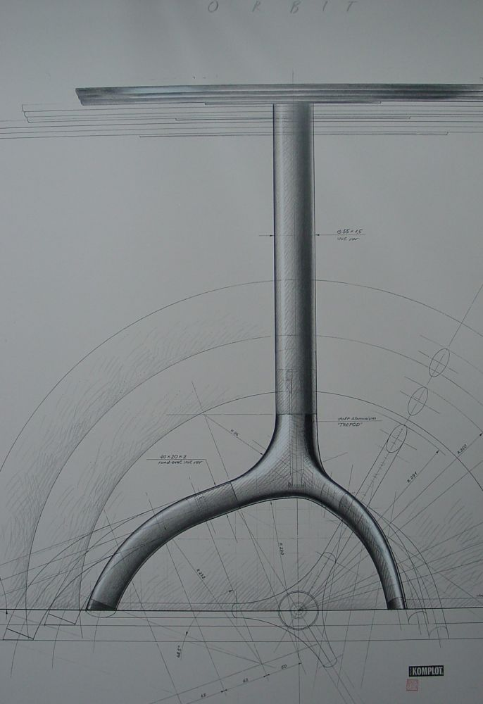 Orbit table drawing