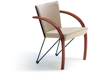 Collage stacking chair