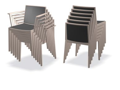 Plot stacking chairs